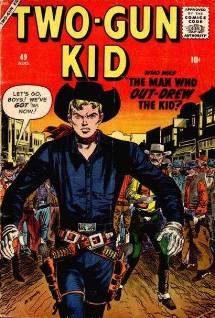 Two-Gun Kid 49 - Gun - Cowboy - Bullets - Hat - Belt