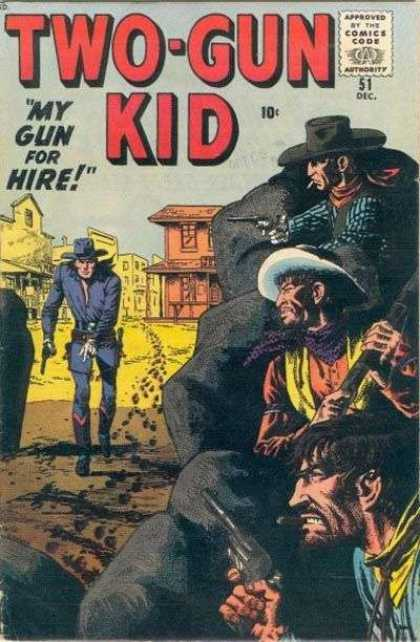 Two-Gun Kid 51 - John Severin