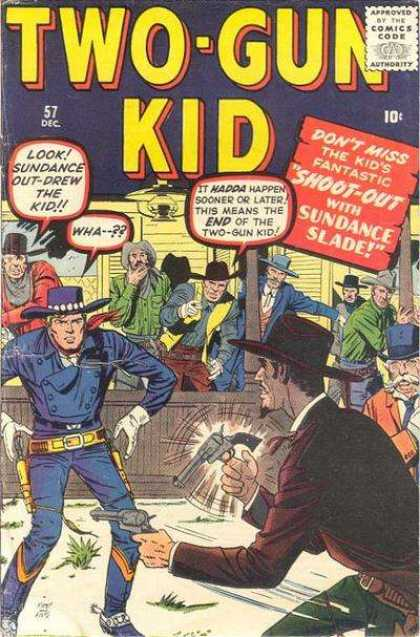 Two-Gun Kid 57 - Dick Ayers, Jack Kirby