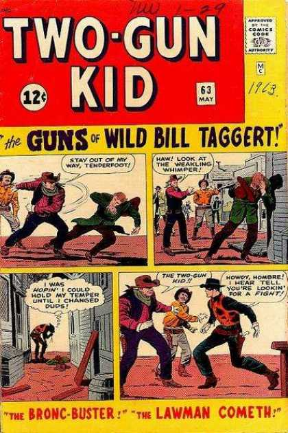 Two-Gun Kid 63 - Jack Kirby