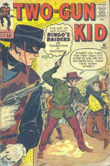Two-Gun Kid 66 - Marvel - Ringos Raiders - Tombstone - Wild West - Gun