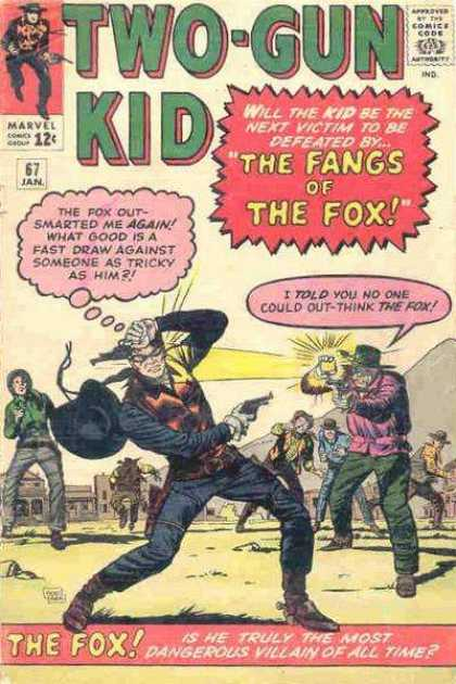 Two-Gun Kid 67 - Dick Ayers, Jack Kirby