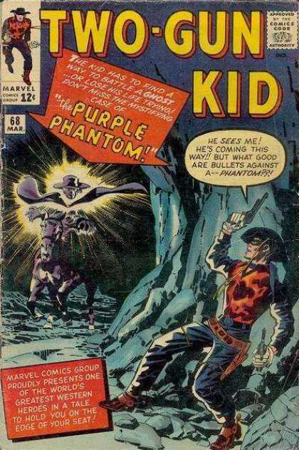 Two-Gun Kid 68 - Jack Kirby
