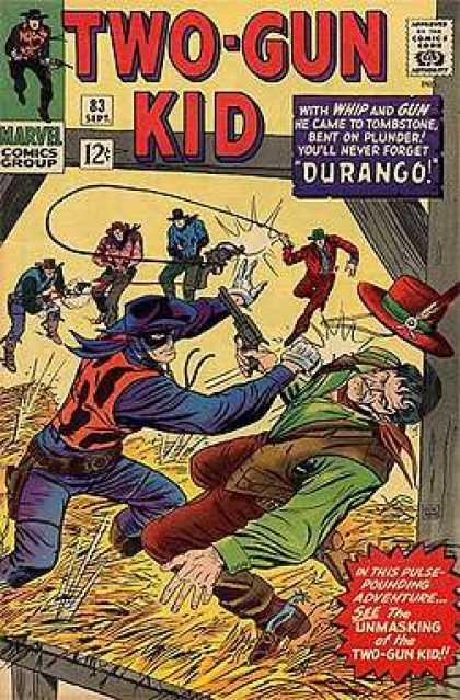 Two-Gun Kid 83 - Western - Whip - Gun - Durango - Adventure - Dick Ayers