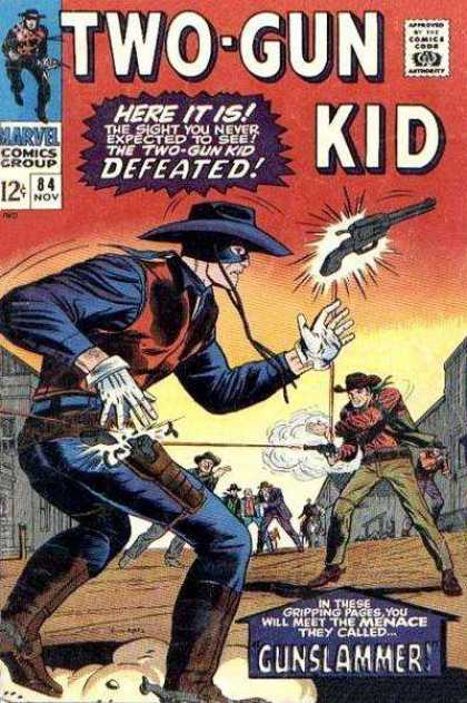 Two-Gun Kid 84 - Gun Slingers - Shootout - Defeat - Gunslammer - Western