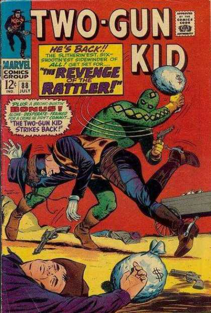 Two-Gun Kid 88 - Two Gun - Kid - Action - Fight - Adventure