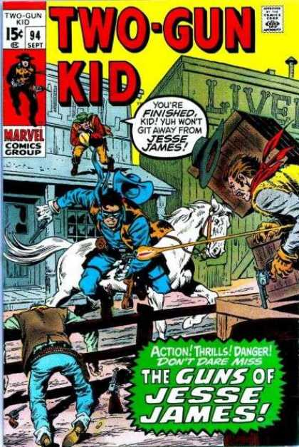 Two-Gun Kid 94 - Marvel - Magic Comics - Two Gun - Kid - Western