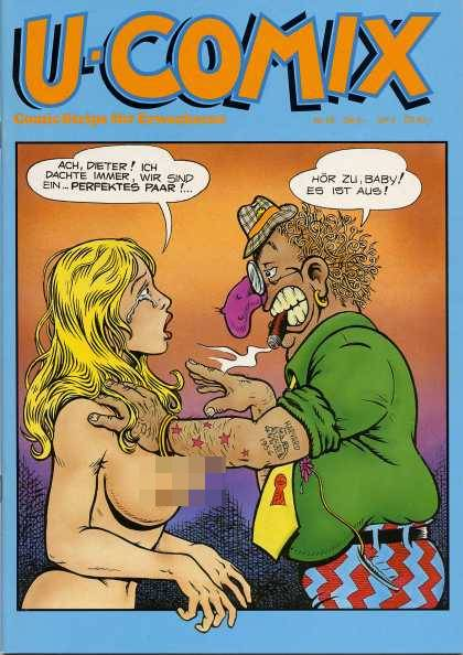 U-Comix 56 - Clown - Cigar - Blonde Woman - Stars