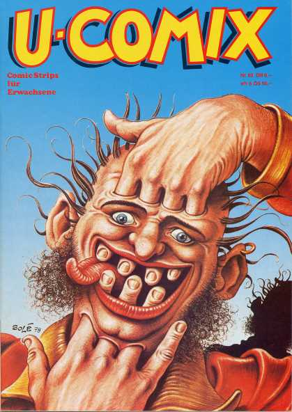U-Comix 58 - Funny - Fantastical - Scary Guy - Funny Guy - Bizarre
