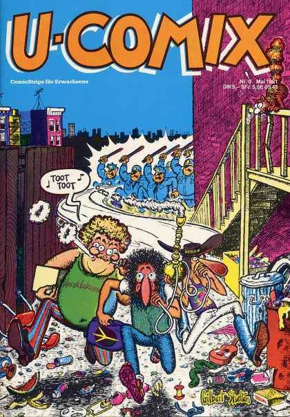 U-Comix 9 - Chase - Cops - Police - Thieves - Gang