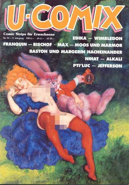 U-Comix 92 - Edika - Moos Und Marmor - Rabbit - X Rated Alice In Wonderland - Red Clock