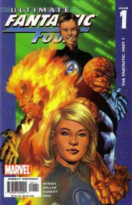 Ultimate Fantastic Four 1 - Bryan Hitch