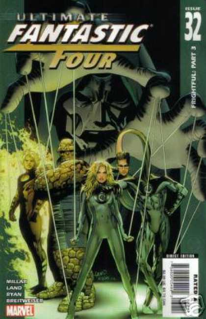 Ultimate Fantastic Four 32 - Fantastic Four - Comic - We Are Ready - Dont Mess With Us - Think Your Ready - Matt Ryan