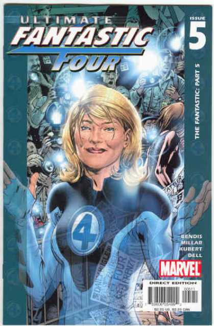Ultimate Fantastic Four 5 - Bryan Hitch