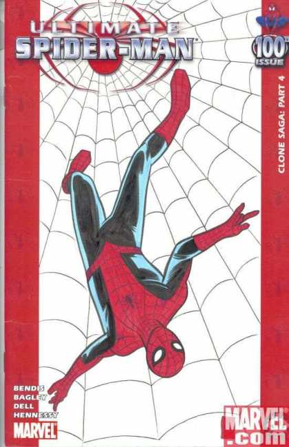 Ultimate Spider-Man 100 - Mike Allred - Web - Clone Saga - Part 4 - Red And Black Outfit - Mask
