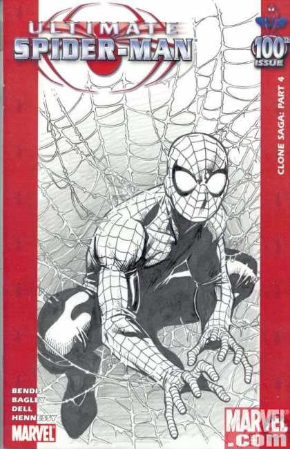 Ultimate Spider-Man 100 - Jimmy Cheung - Clone Saga Part 4 - Bendis - Bagley - Dell - Hennessy