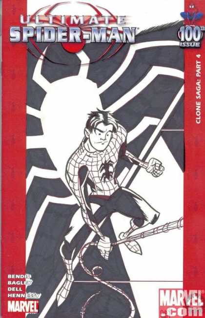 Ultimate Spider-Man 100 - Rich Cody - Spiderman - 100 Issue - Clone Saga Part 4 - Bendesi - Dell
