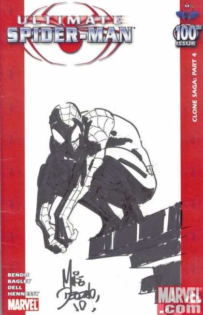 Ultimate Spider-Man 100 - Mike Deodato - Close Saga Part 4 - Spiderman - Ultimate - Bagley - Dell