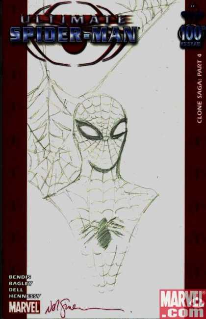 Ultimate Spider-Man 100 - Neil Gaiman - Marvel - Hennessy - Bendis - Bagley - Dell