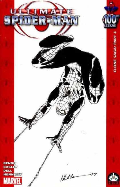 Ultimate Spider-Man 100 - Michael Lark - Marvel Comics - Superhero - Bendis - Bagley - Dell