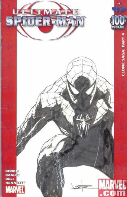 Ultimate Spider-Man 100 - Jae Lee - Spiderman - 100th Issue - Clone Saga Part 4 - Clone Saga - Part 4