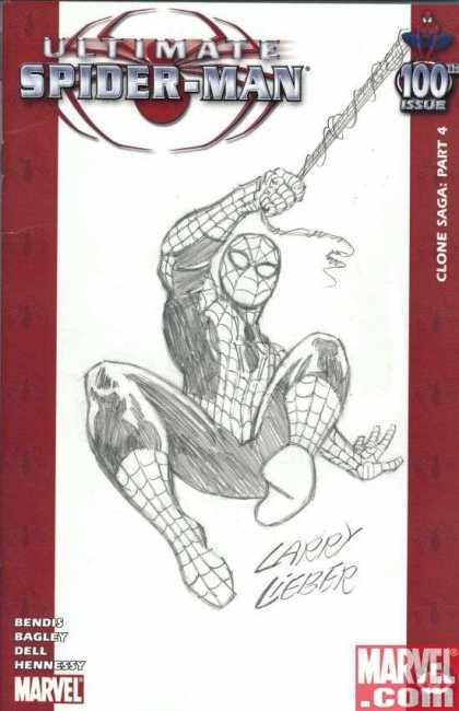 Ultimate Spider-Man 100 - Larry Lieber