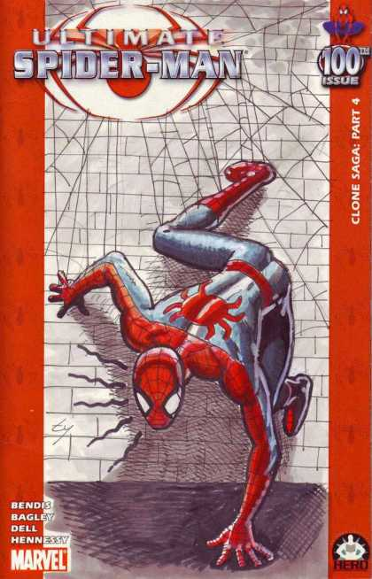 Ultimate Spider-Man 100 - Bob McLeod - Unlimited Fun With Spider Man - Spider Man And His Bravery - Spider Man And The Girl - Spider Man And His Magic - Spider Man The Super Hero