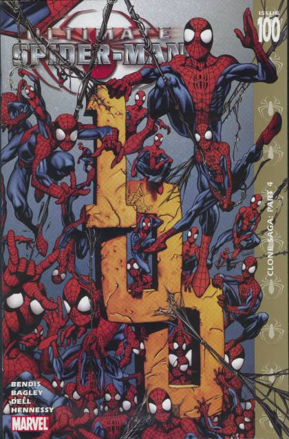 Ultimate Spider-Man 100 - Web - Swing - Bendis - Bagley - Dell - Mark Bagley, Richard Isanove