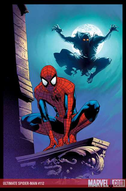 Ultimate Spider-Man 112 - Marvel - Spiderman - Webbed - Wall Crawler - Villain - Stuart Immonen