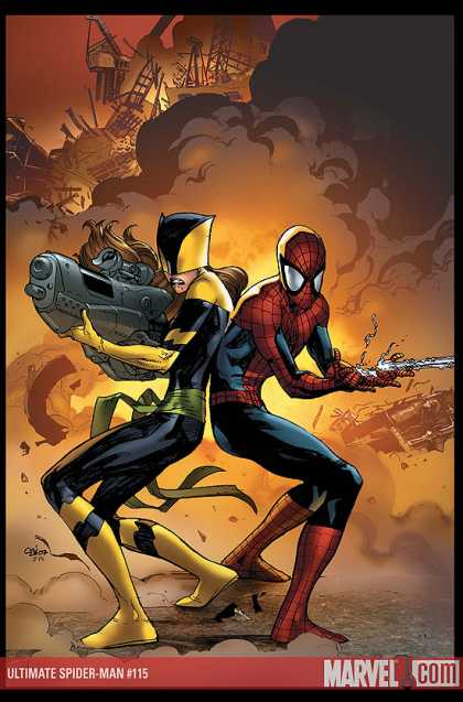 Ultimate Spider-Man 115 - Stuart Immonen