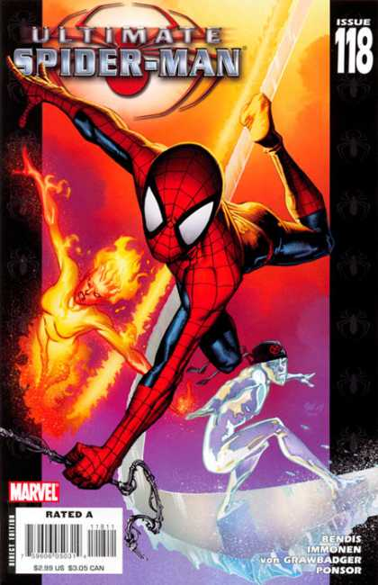 Ultimate Spider-Man 118 - Richard Isanove, Stuart Immonen