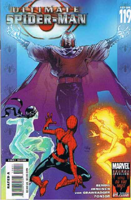 Ultimate Spider-Man 119 - Richard Isanove, Stuart Immonen