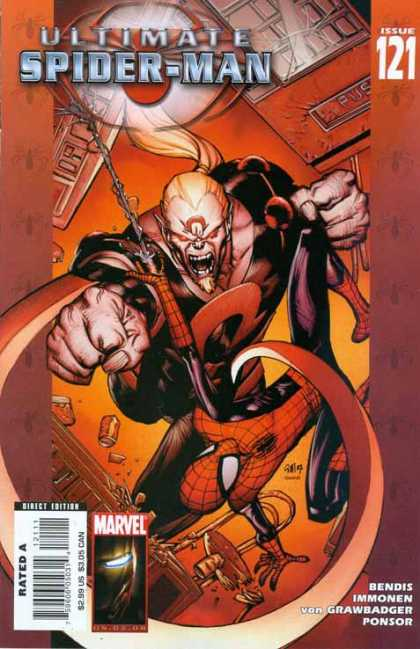 Ultimate Spider-Man 121 - Richard Isanove, Stuart Immonen
