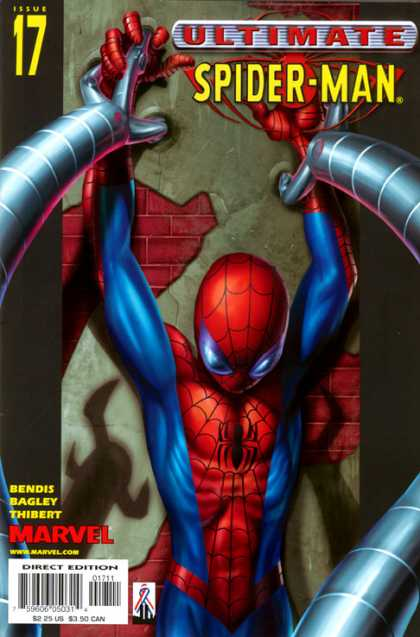 Ultimate Spider-Man 17 - Doctor Octopus - Doc Ock - Arms - Mechanical - Fighting - Mark Bagley