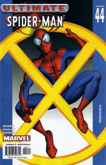 Ultimate Spider-Man 44 - Book - Spider Man - Story Book - Comics - Direct Edition - Mark Bagley