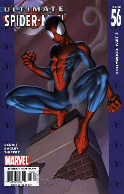 Ultimate Spider-Man 56 - Chimney - Hollywood Part 3 - Issue 56 - Smoke - Marvel - Mark Bagley