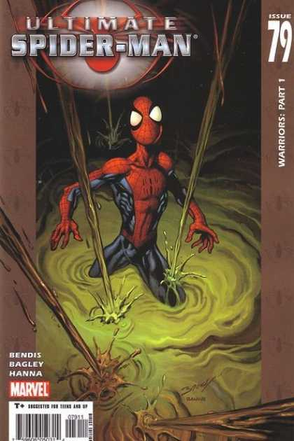 Ultimate Spider-Man 79 - Sewer - Sludge - Issue 79 - Warriors Part 1 - Marvel - Mark Bagley, Richard Isanove