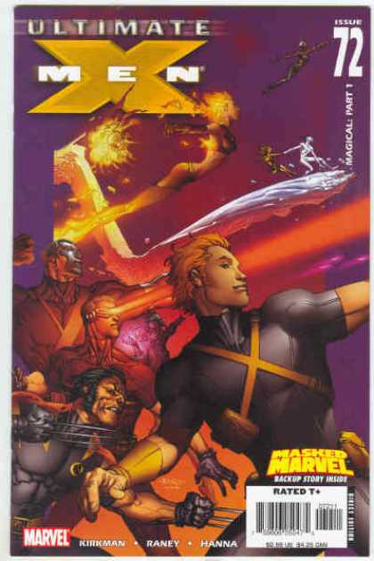 Ultimate X-Men 72 - Magical Part 1 - Kirkman - Raney - Hanna - Masked Marvel - Richard Isanove, Tom Raney
