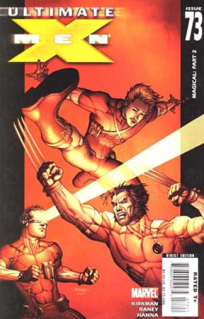 Ultimate X-Men 73 - Issue 73 - Rated T - Marvel - Kirkman - Raney - Richard Isanove, Tom Raney
