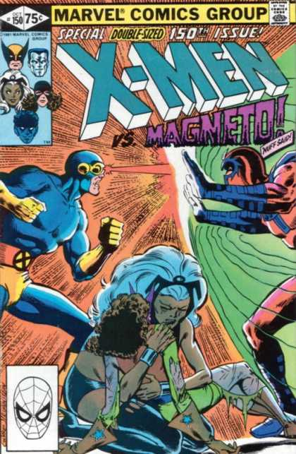 Uncanny X-Men 150 - Magneto - 150th Issue - Marvel Comics - Spiderman - Double-sized - Dave Cockrum, Josef Rubinstein