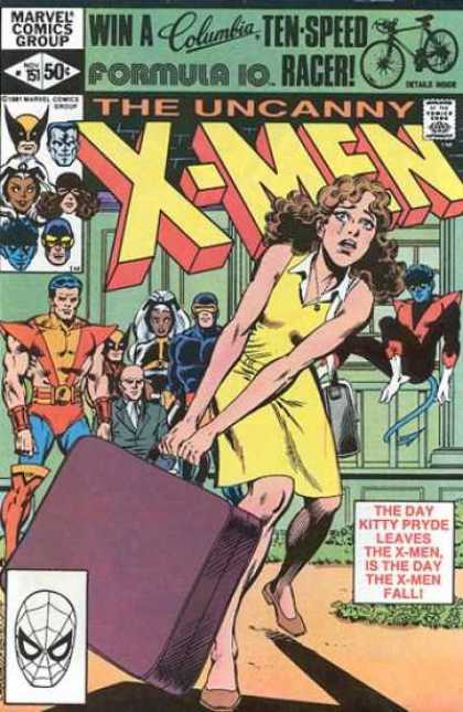 Uncanny X-Men 151 - Wolverine - Storm - Case - Kitty Pryde - Xmen - Dave Cockrum, Josef Rubinstein
