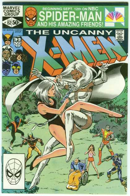 Uncanny X-Men 152 - Storm - Wolverine - Cyclops - White Queen - Professor X - Bob McLeod