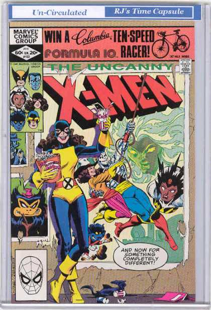 Uncanny X-Men 153 - Storm - Popcorn - Pop - Wolverine - Cyclops - Dave Cockrum, Josef Rubinstein