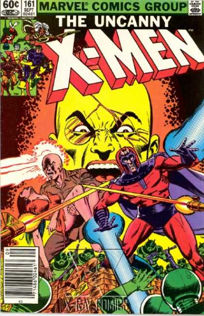 Uncanny X-Men 161 - Marvel Comics Group - 161 Sept - Approved By The Comics Code Authority - Xray - Comics - Dave Cockrum