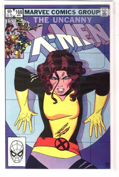 Uncanny X-Men 168 - Marvel Comics - Belt - Cut - Slash - Uncanny - Paul Smith