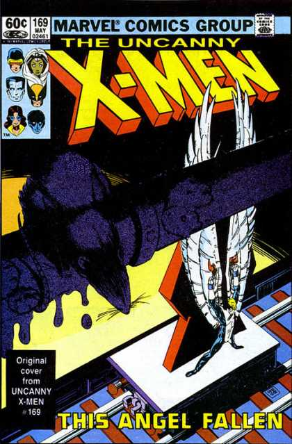 Uncanny X-Men 169 - Storm - Wolverine - Angel - Colossus - Nightcrawler - Paul Smith