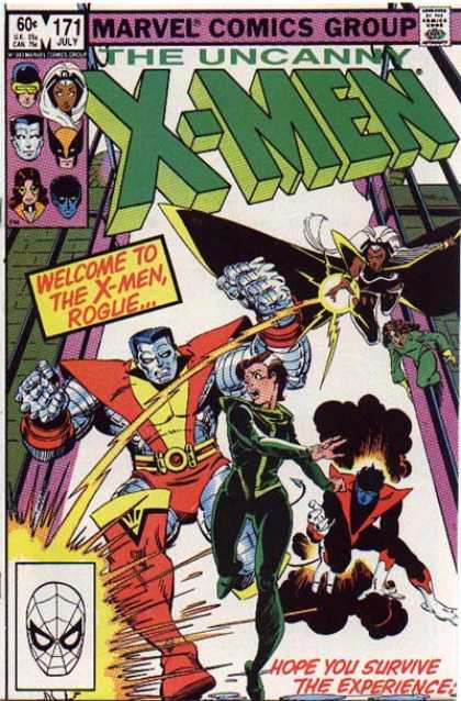 Uncanny X-Men 171 - Rogue - Storm - Nightcrawler - Colossus - Walter Simonson