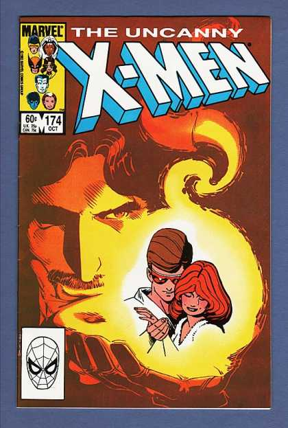 Uncanny X-Men 174 - Cyclops - Jean Grey - Marvel - Fire - Orb - Paul Smith