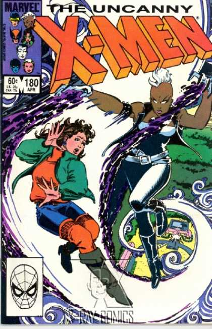 Uncanny X-Men 180 - Storm - Kitty Pryde - Flight - Mutants - Ororo - John Romita