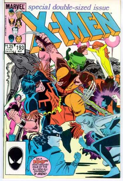 Uncanny X-Men 193 - Wolverine - Nightcrawler - Super Power - Marvel Tales - Gala Tales - John Romita